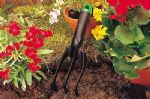 Linic Products UK Made Garden Potting Cultivator Hoe. Lightweight and Sturdy. X1183